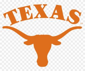 The log for the university of texas which is a top school for girls basketball