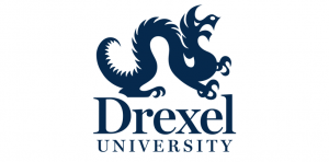 The logo for Drexel University which ranked 30th for top schools with online phd educational leadership