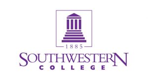 The logo for Southwestern College which placed 16th for best schools with phd educational leadership online