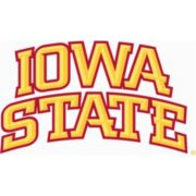 Logo for Iowa State University a best industrial design school nominee.