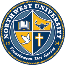 The logo for Northwest University with is one of the top northwest colleges