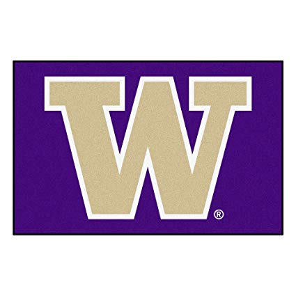 The logo for University of Washington which is a great northwest college