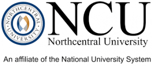 The logo for Northcentral University which offers an Online PhD in Sport and Athletic Management