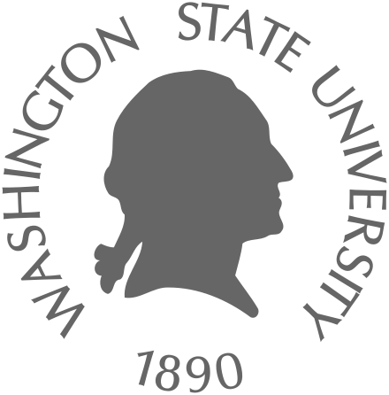 The logo for Washington State University which is a top university in the pacific northwest