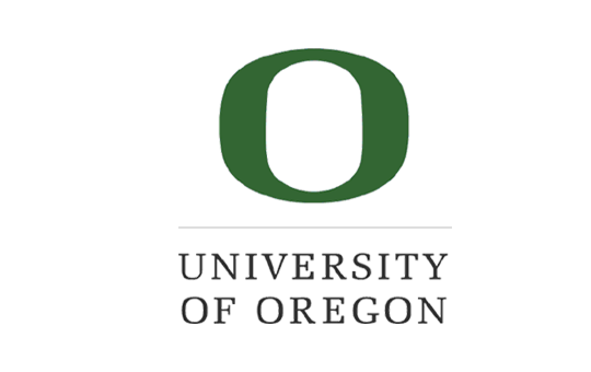 The logo for University of Oregon which is one of the best colleges in the northwest