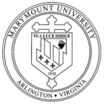 The logo for Marymount University which has a top phd in computer information systems