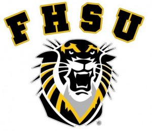 The logo for Fort Hays State University which has the best value history program online