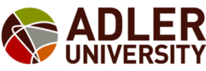 The logo for Adler University which offers a great Online PhD in Industrial & Organizational Psychology