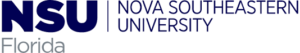 The logo for Nova Southeastern University which ranked 9th for  top phd organizational psychology online