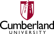 The logo for Cumberland University which offers a General Business program for students who want to pursue management and leadership roles in business