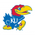 The logo for KU which is a top school for those wanting to be on that rhodes scholar list
