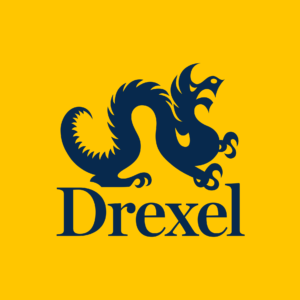 The logo for Drexel University which has one of the best computer science degrees