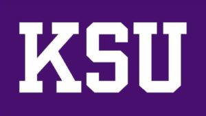 The logo fo KSU which placed 15th in our ranking for top value schools with food science degrees
