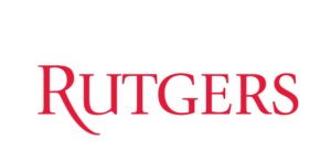 The logo for Rutgers University which placed 9th in our ranking of best marine science college