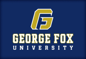 The logo for George Fox University which placed 18th for doctorate in marketing online