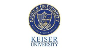 The logo for Keiser University which offers a great Online Doctorate in Marketing