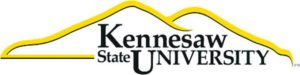 The logo for Kennesaw State University which ranked 4th in our marketing phd ranking