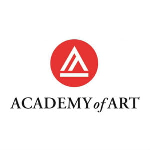 The logo for Academy of Art University which has one of the best online photography degree