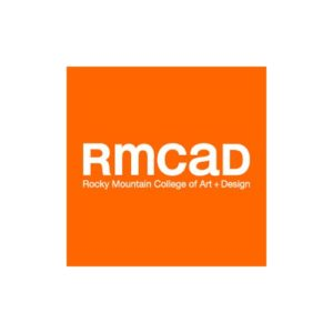 The logo for RMCAD which is a top school for photography online degree