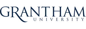 The logo for Grantham University which has one of the best online associate degree