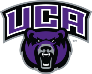 The logo for University of Central Arkansas which offers multiple degrees for stay-at-home moms