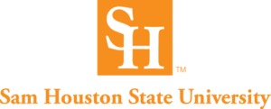 The logo for Sam Houston State University which offers a great stay at home mom degree
