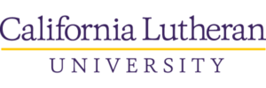 The logo for California Lutheran University which offers a great online mpp degree