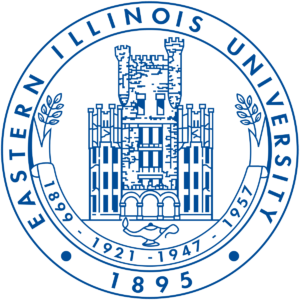 The logo for Eastern Illinois University which has a great online mpp programs
