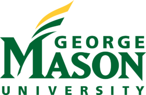 The logo for George Mason University which offers one of the top public policy graduate programs