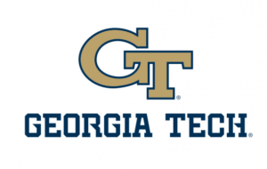 The logo for Georgia Institute of Technology which has one of the online mpp programs