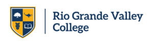 The logo for Rio Grande Valley College which ranked as the most affordable online associates degree