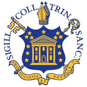 The logo for Trinity College which has a great public policy masters program