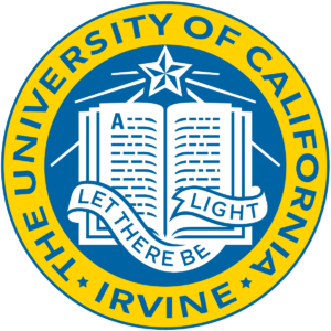 The logo for University of California Irvine which offers a top Master's in Public Policy