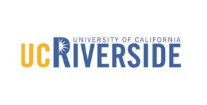 The logo for University of California Riverside which has a great Master's in Public Policy