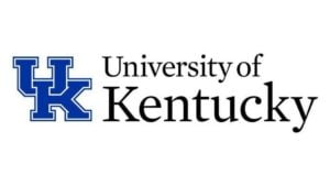 The logo for the University of Kentucky which offers one of the top0 online public policy masters programs