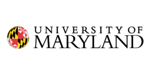 The logo for University of Maryland which has a great online mpp degree