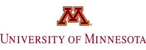 The logo for University of Minnesota which offers a great online public policy masters program