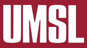 The logo for UMSL which has one of the best online masters in public policy