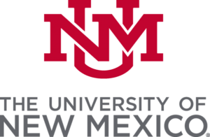 The logo for University of New Mexico which placed 1st in our ranking of the Top 30 Most Affordable Master's in Public Policy