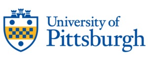 The logo for University of Pittsburgh which offers one of the best online mpp programs