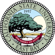The logo for California State University which is one of the schools for degrees in recreation