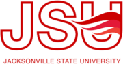 The logo for Jacksonville State University which placed 4th in our ranking for schools that offer top parks and recreation management degree