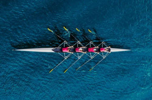 An image accompanying our article on best colleges for rowing