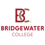 The logo for Bridgewater College which is one of the best small business schools