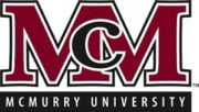 The logoi for McMurry University which is one of the best small Colleges for Business Administration
