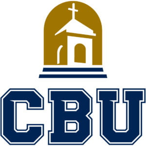 The logo for California Baptist University which placed 24th in our online mpa rankings
