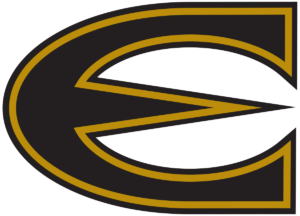 the logo for Emporia State University which has one of the best online history masters programs
