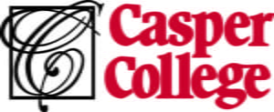 The logo for Casper College which is a top school for online ag degrees