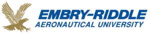The logo for Embry-Riddle Aeronautical University