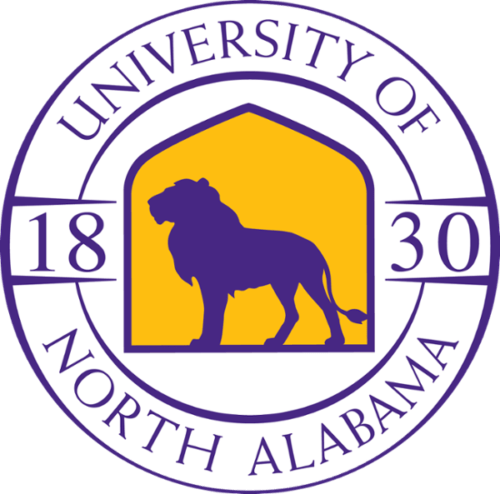 The log for the University of North Alabama which offers one of the cheapest mba online